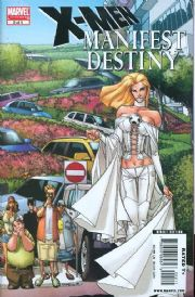 X-Men Manifest Destiny #2 (2008) Marvel comic book